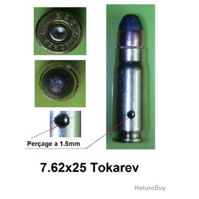 Cartouches métalique Neutralisées 7.62x25 TOKAREV ( Neutralisée par perçage)