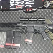 ARES Amoeba Pro M4 KM12 noir Fusils d'assaut (4093638)