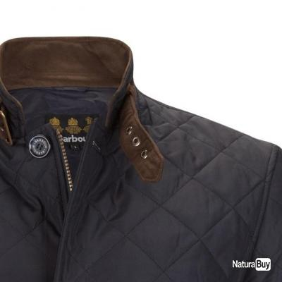 VESTE Barbour Quilted Lutz Jacket OLIVE TAILLE XL