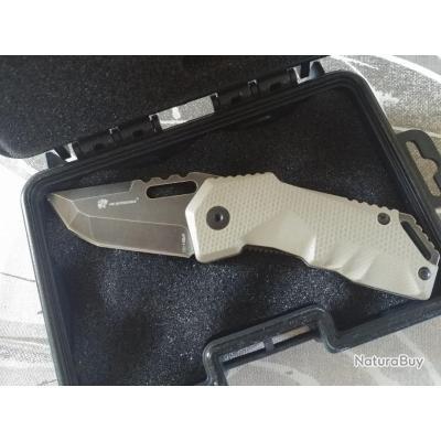 couteaux de poche tactique HX avec sa boite collector