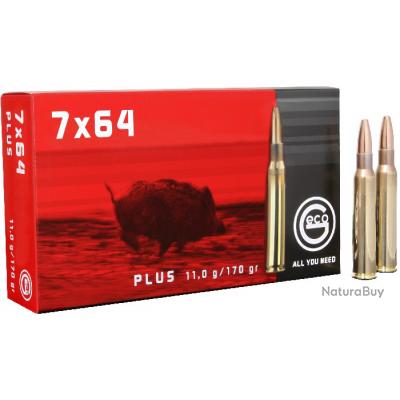 Munitions Geco, Calibre 7x64, Type Plus