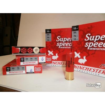 AXEL N381- LOT DE 50 WINCHESTER SUPER SPEED MAGNUM CAL.12 - NEUF!!!!!