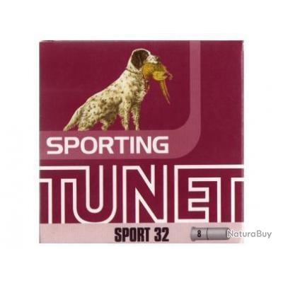 Munitions Cartouches Tunet Sport 32 Cal.12 N°7.5 par 100