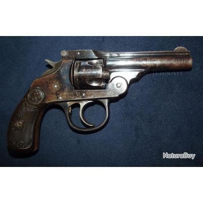 Revolver Iver Johnson pocket calibre 32 short patent 1886/96