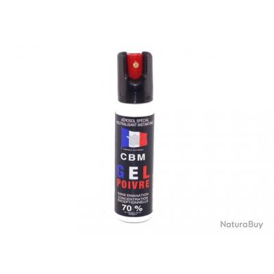 DM Diffusion Aérosol de défense GEL 25ML OC Red Pepper Capot 1/4 de t