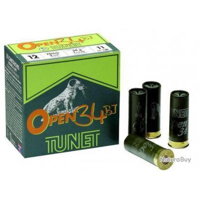 Munitions Tunet  Open Cal.12 34BJ N°9 par 125