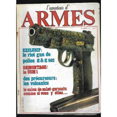 l'amateur d'armes n°13 heckler & koch 502 le riot gun de police,survivre en cas d'urgence ,