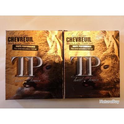 2 boîtes de cartouches Tunet Premier Chevreuil plomb N°2 SUPER PRIX !!!