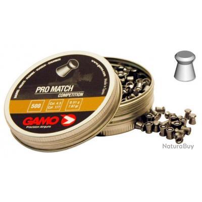 Plombs 4,5 mm Gamo Pro Match