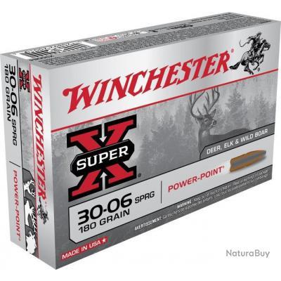 Cartouche Winchester / cal. 30-06 - Super-X PP 11,7 g