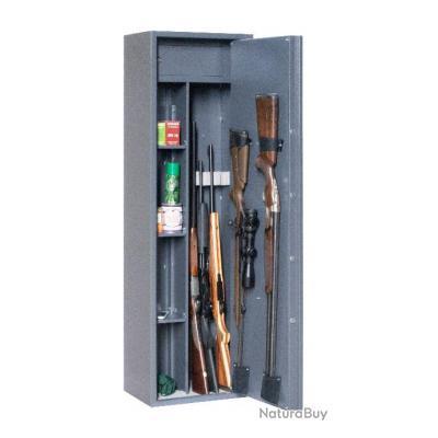 1€ !! SANS RESERVE Coffre fort ELITE Reload Mixte - 6 armes + étagères amovibles et coffre intérieur
