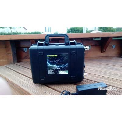 Nouveaute Box Batterie Lithium 12 Volts 60ah Etanche Special