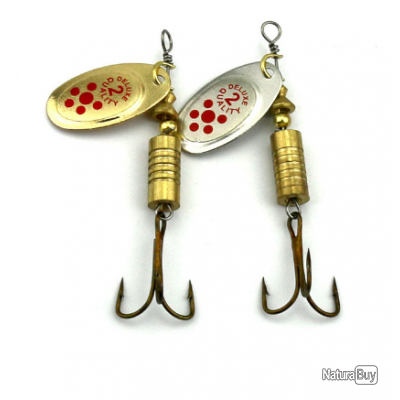 6 pièces - 8 pièces - 10 pièces - cuillère de pêche à la truite.