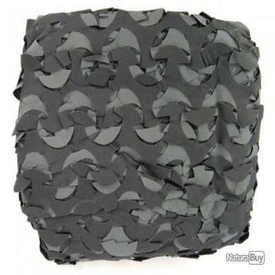 Filet bâche de camouflage noir/gris 2.4m x 3m pergola, terrasse ...