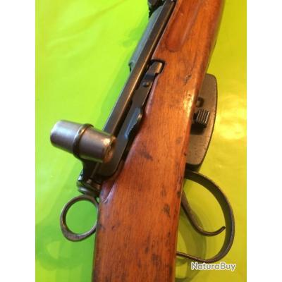 exemple de vente d'une arme par l'intermédiaire d'un courtier/armurier __00003_CARABINE-LINEAIRE-MOUSEQUETON-SUISSE