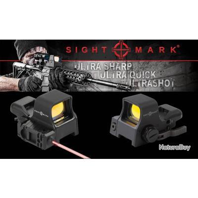 Point Rouge Laser SIGHTMARK Ultra Double Shot Pro Spec NV Viseur QD