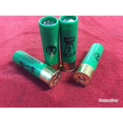 Boite de 10 munitions LATOUR 32g bourre grasse Cal.16x70 (Plombs de Lyon n°4)
