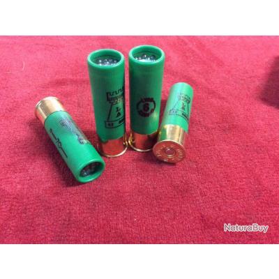 Boite de 10 munitions LATOUR 32g bourre grasse Cal.16x70 (Plombs de Lyon n°6)