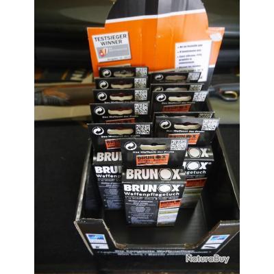 lots de lingettes brunox pour armes