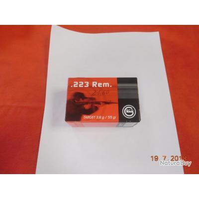 Balles Geco 223 REM, target bullet