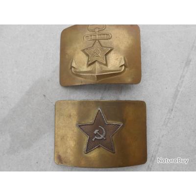 9cf57060e80 Boucles ceinturon URSS - Ceinturons et brelages militaria (4996802)