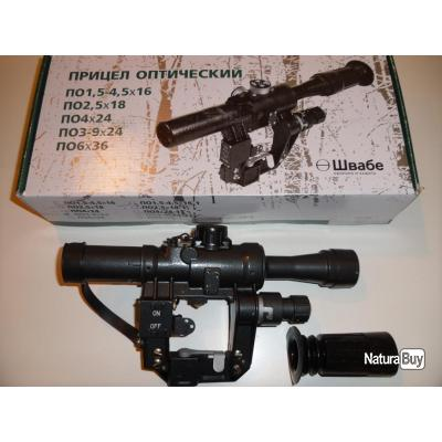PSL  CUGIR  lunette de tir russe PO 4X24