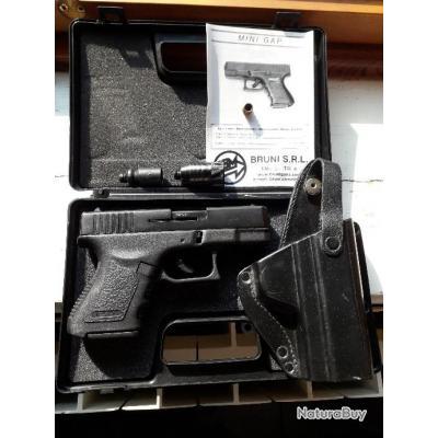 pistolets 9mm pak a blanc replique du glock