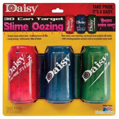 Cible Daisy 3 canettes 3D