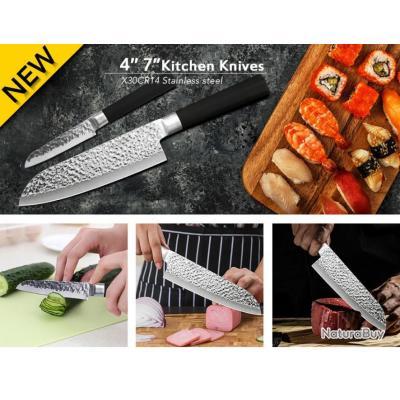 couteaux japonais  X1 178mm lame / dureté 59HRC