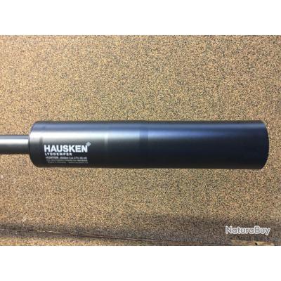 SILENCIEUX HAUSKEN JAKT JD 224 Calibres  8.2mm, 8 X68mmS, 8X57
