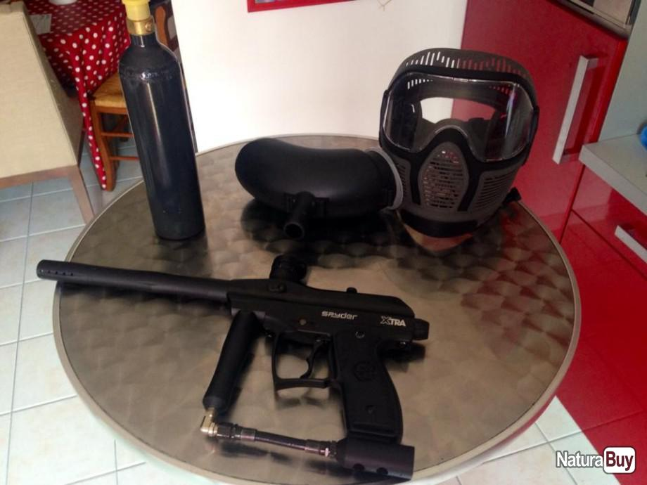 Annonce billes paintball : Paintball occasion vendée PACK SPYDER x-tra 2009