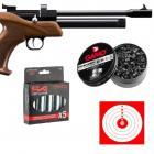 Pistolet Artemis CP1 Multi Shot CAL 5.5 + Chargeur 9 coups +250 Plombs Gamo +5 Capsules Co2