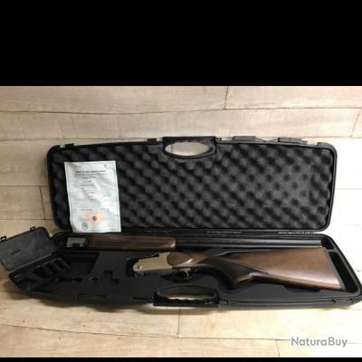 Fusil superposé KHAN ARMS INTÉGRA K CHASSE calibre 28/70 neuf dans sa mallette d?origine !!