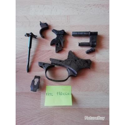lot pièces non classées revolver 1892 Français  *** mise à prix 1€ sans reserve ****