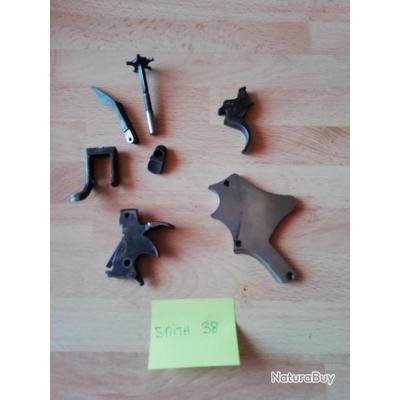 lot pièces non classées Revolver Smith et Wesson  *** mise à prix 1€ sans reserve ****