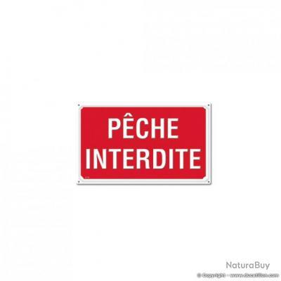 PÊCHE INTERDITE, Akilux (lot de 10)