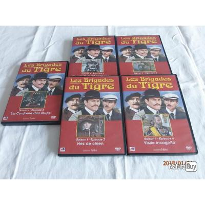 5 DVD histoires vraies,  avant guerre 14/18.
