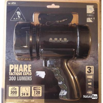 Lampe Phare Tactique 300 Lumens Ares Lampes 5045068
