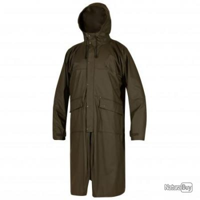 MANTEAU  IMPERMEABLE HURRICANE  DEERHUNTER COL: 376 DH ART GREEN