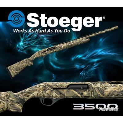 """STOEGER 3500 CAMO MAX5 """"PROMO BLACK DAY$"""" Fusil Semi-Automatique Calibre 12/89 Canon 76cm"""