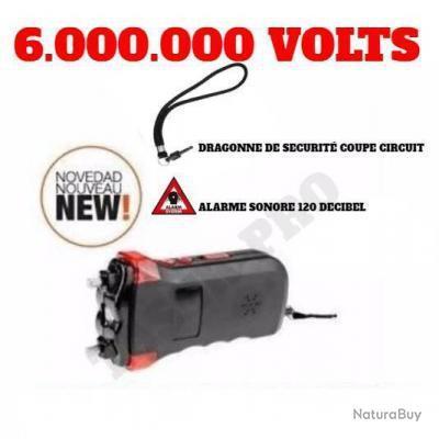 Led 000 Millions Circuit Limité Taser Tazer Voltquantité Alarme120dbCoupe 6 000 Puissant QBoWedCxr