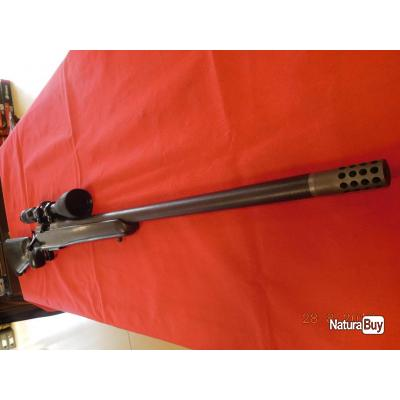 Carabine Remington 700 Custom d'occasion canon  66 cm calibre 270 WSM,lunette Swarovski 4X12X50
