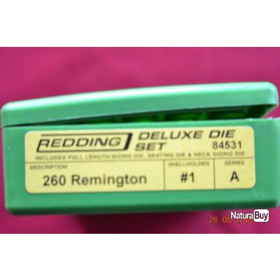 outil redding calibre 260 remington