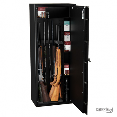 Armoire Forte Pour 10 Fusils Hartmann Tresore Wt5010 Serrure A