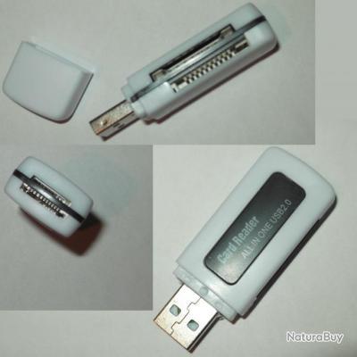 Lecteur de petites cartes mémoire 5 en 1 NEUF carte appareil photo