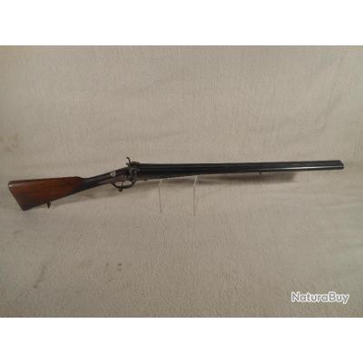 fusil de chasse juxtaposé à broche calibre 12