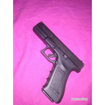 Glock 17 Bruni Gap ( a blanc ) avec 8 cartouche a l'envoi