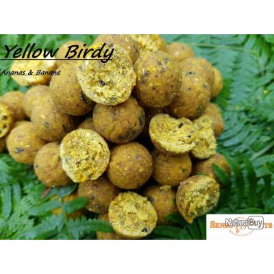 * PROMO * Bouillettes SENSOBAITS Yellow Birdy 20mm - 2,5kg