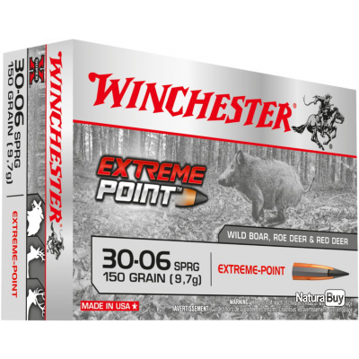 30-06 EXTREME POINT 150gr Winchester Boite de 20