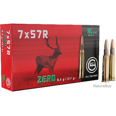 BOITE DE 20 CARTOUCHES GECO 7X57 R ZERO 8.2 GR